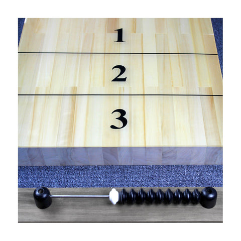 Shuffleboard Table 12ft - Indoor Shuffle Board Industrial Grey Bedford by Imperial - Gaming Tables
