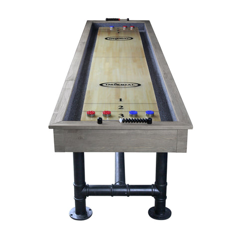 Imperial Bedford Silver Mist 9ft Shuffleboard Table - Game Tables
