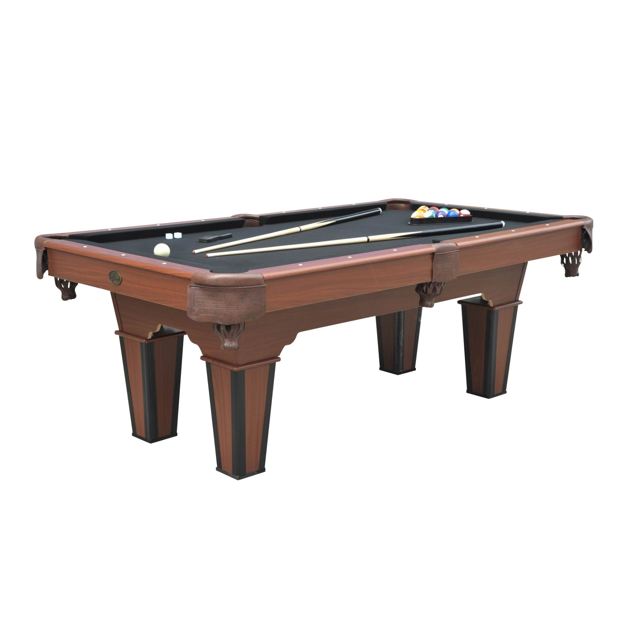 Playcraft Arcadia 7' Pool Table with Black Cloth - Gaming Blaze