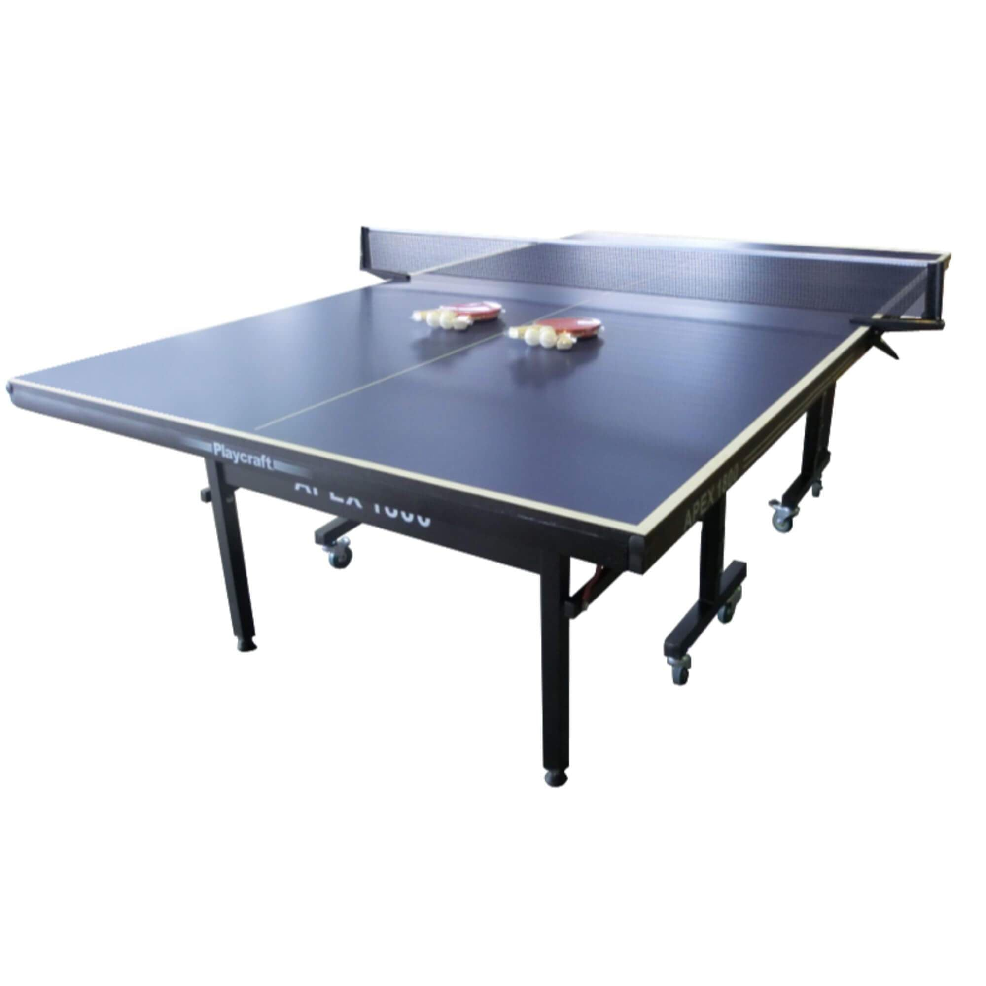 Playcraft Apex 1800 Indoor 9' Table Tennis Table - Gaming Blaze