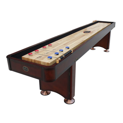Playcraft Georgetown Shuffleboard Table with Playing Accessories - Gaming Blaze