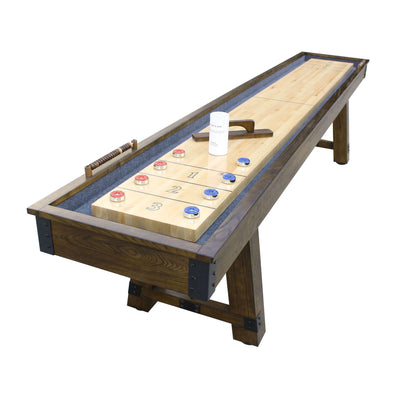 Hathaway Cheyenne 12ft Shuffleboard Table - Gaming Blaze