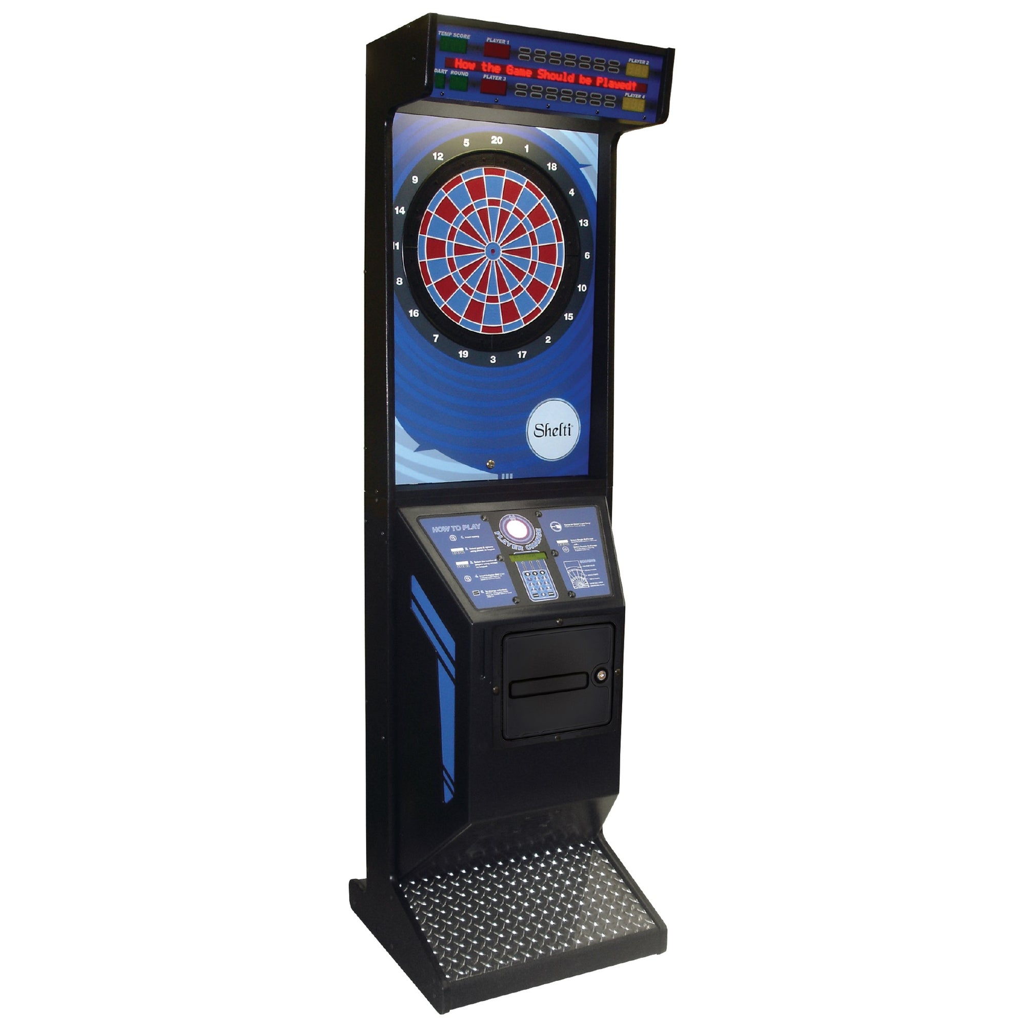 Shelti Eye2 Electronic Dartboard Cabinet Machine - Gaming Blaze