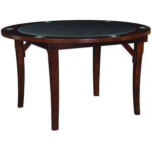 "RAM Game Room 48"" Round Folding Poker Table 6 Person - Game Tables"
