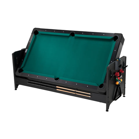 Image of Fat Cat Original Pockey 7ft Black 3 in 1 Multi Game Table - Gaming Blaze
