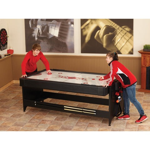 3 in 1 Game Table - 7ft Original Pockey Multi Game Table by Fat Cat - Gaming Tables