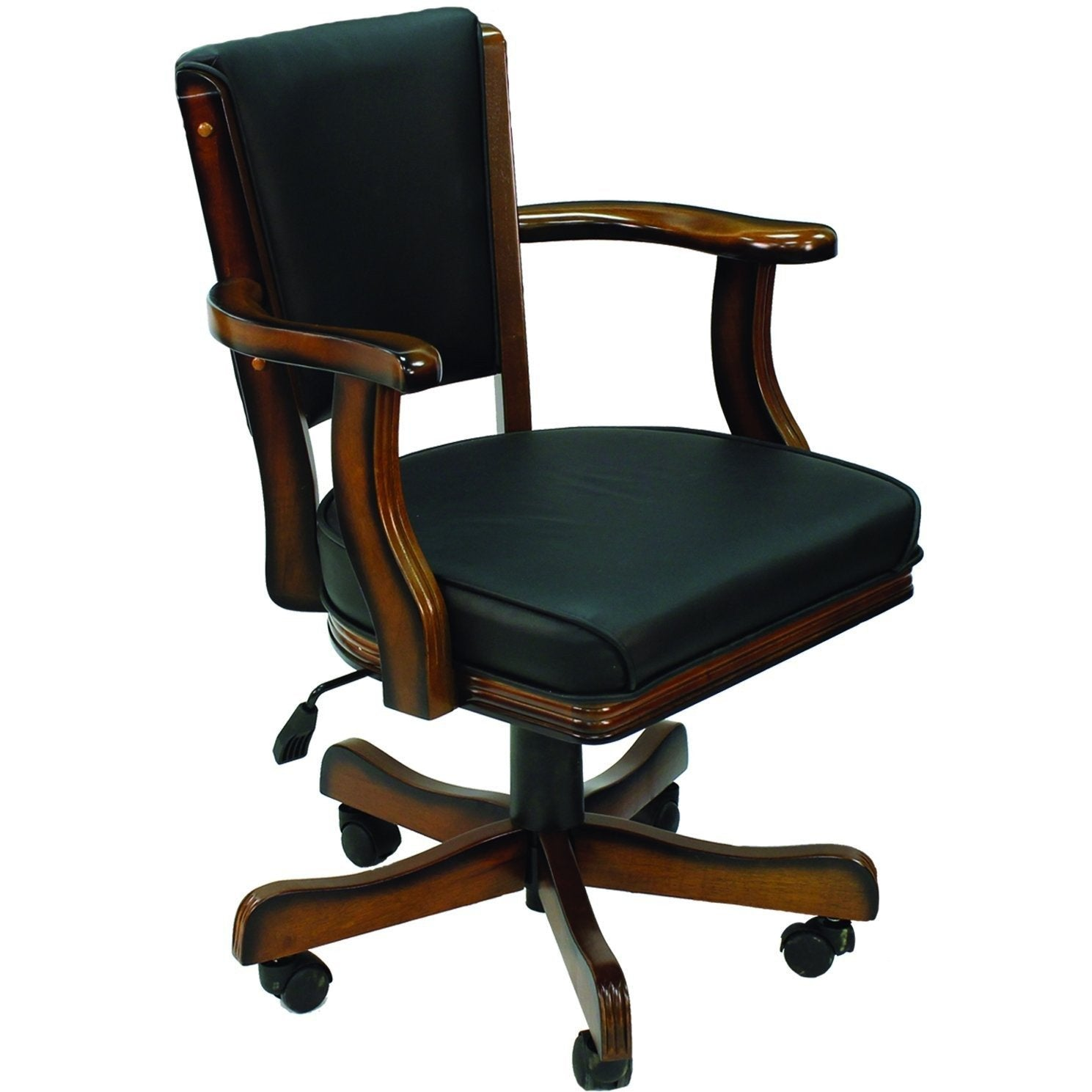 RAM Game Room Swivel Poker Game Arm Chair Set - Gaming Blaze