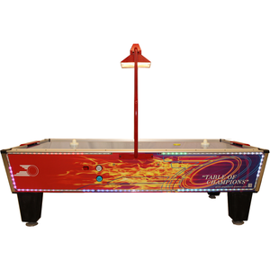 Gold Standard Games Gold Flare Home Plus LED 8ft Air Hockey Table - Game Tables