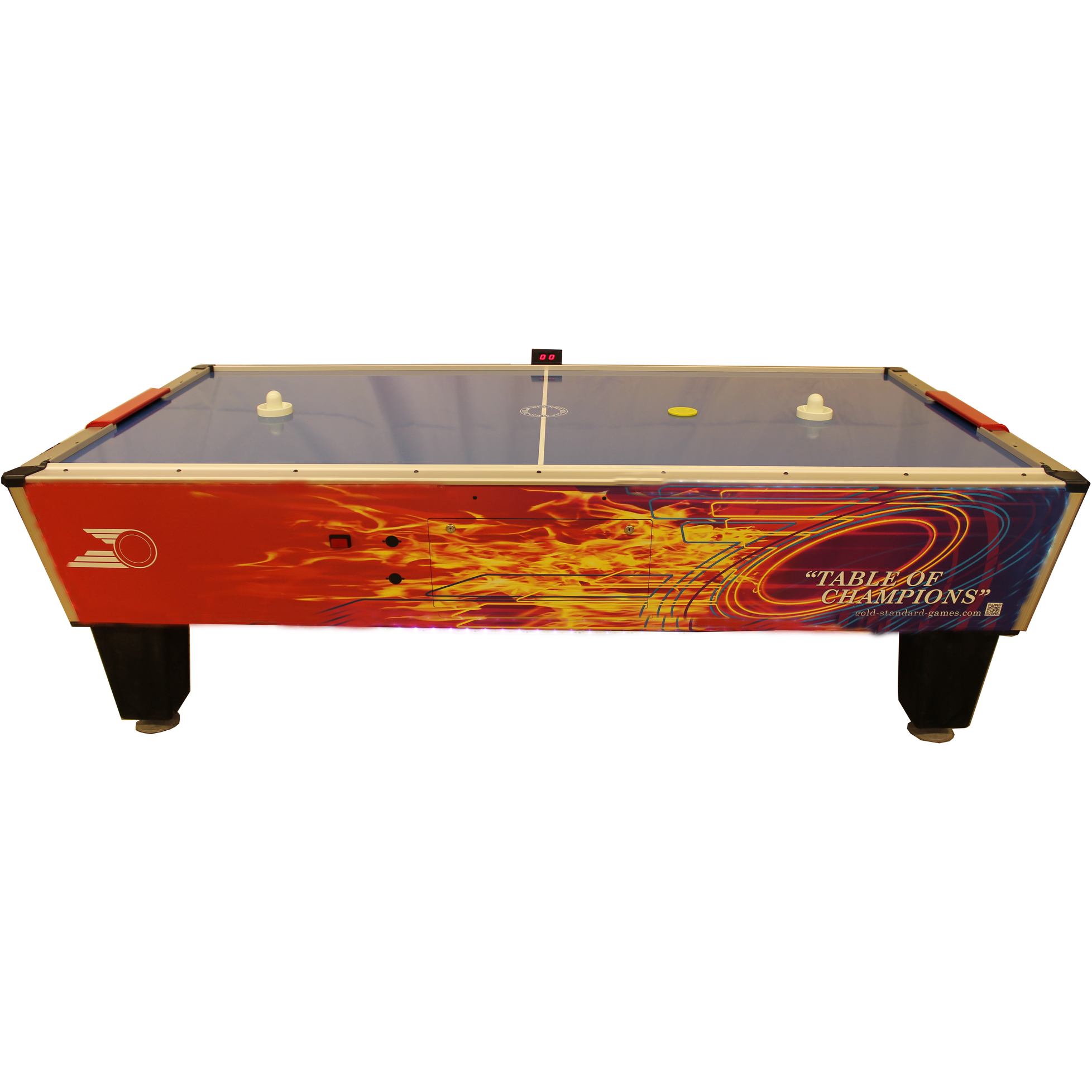 Gold Standard Games Gold Pro 8ft Air Hockey Table - Gaming Blaze