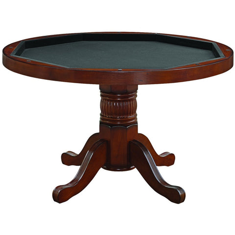 "RAM Game Room 2 in 1 Round Poker Table 48"" - Game Tables"