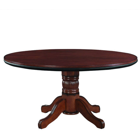 Round Dining Poker Table Convertible 8 Person 60 Quot By Ram