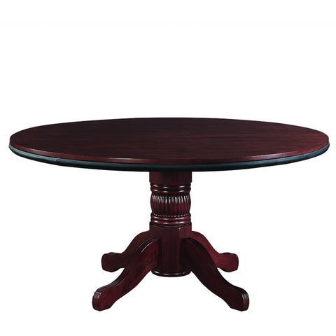 RAM Game Room Convertible Round Dining Poker Table 8 Person - Game Tables