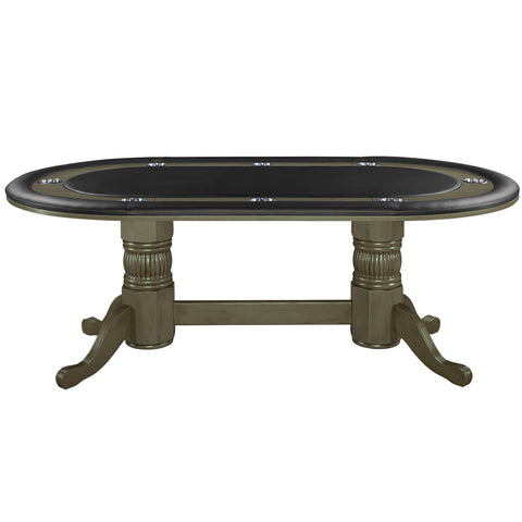 Image of RAM Game Room Texas Holdem Oval Poker Table 8 Person