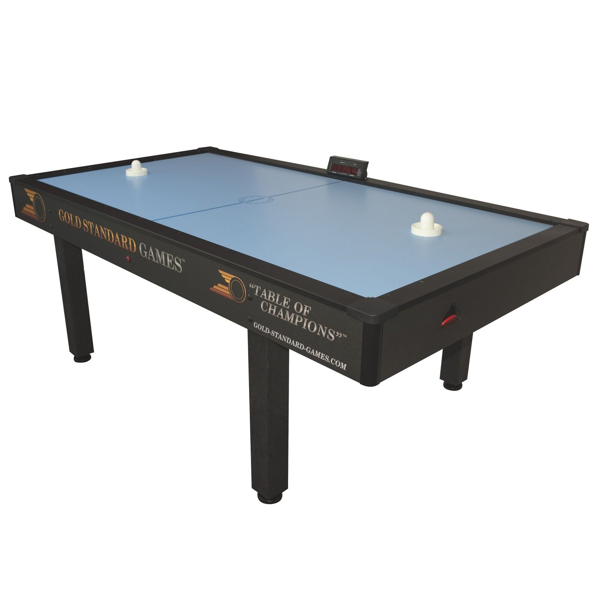 Gold Standard Games Home Pro 7ft Air Hockey Table - Gaming Blaze