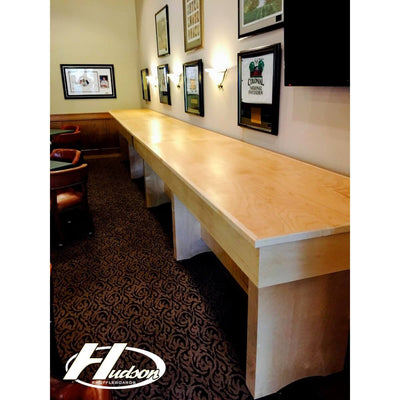 Hudson Shuffleboards Removable Bar Top for Shuffleboard - Gaming Blaze