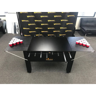 Warrior Table Soccer Foosball Beer Pong Table - Gaming Blaze