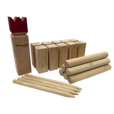 Playcraft Sport Deluxe Hardwood KUBB Game Set - Gaming Blaze