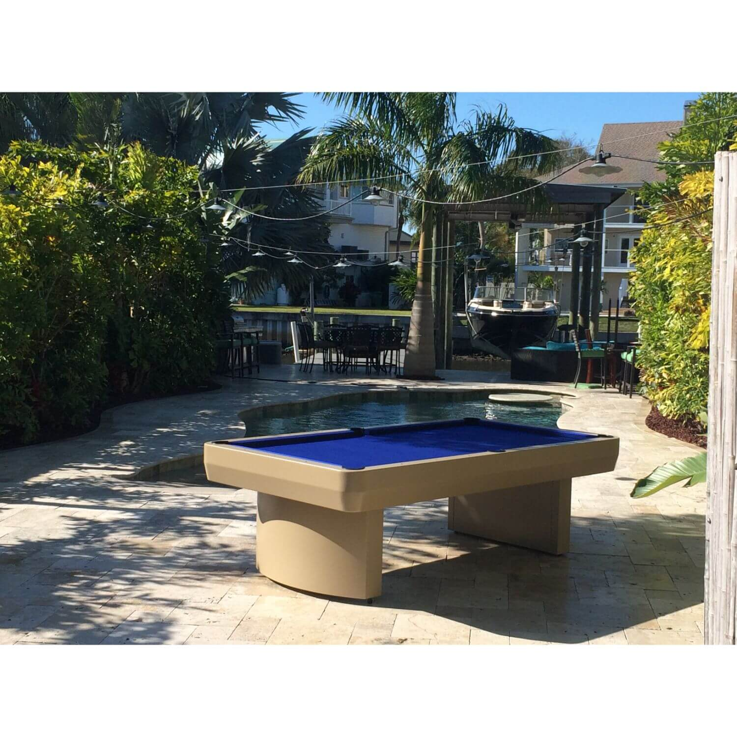 Gameroom Concepts 3000 Series 8ft Outdoor Pool Table
