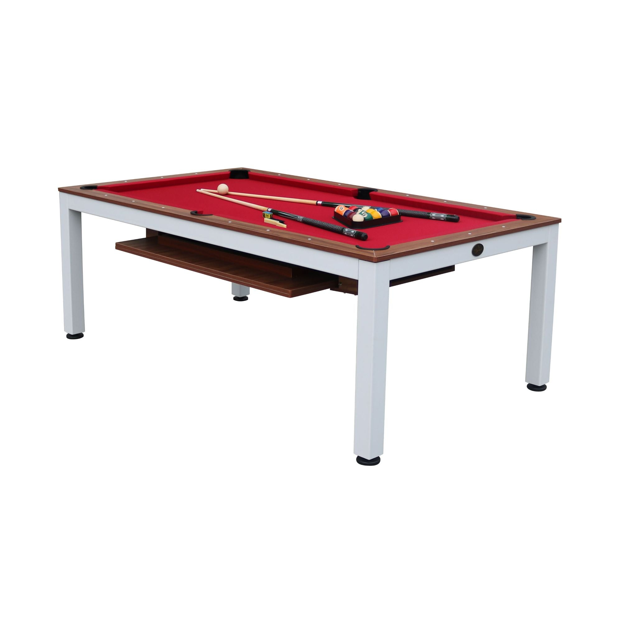 Playcraft Glacier 7' Pool Table with Dining Top - Gaming Blaze