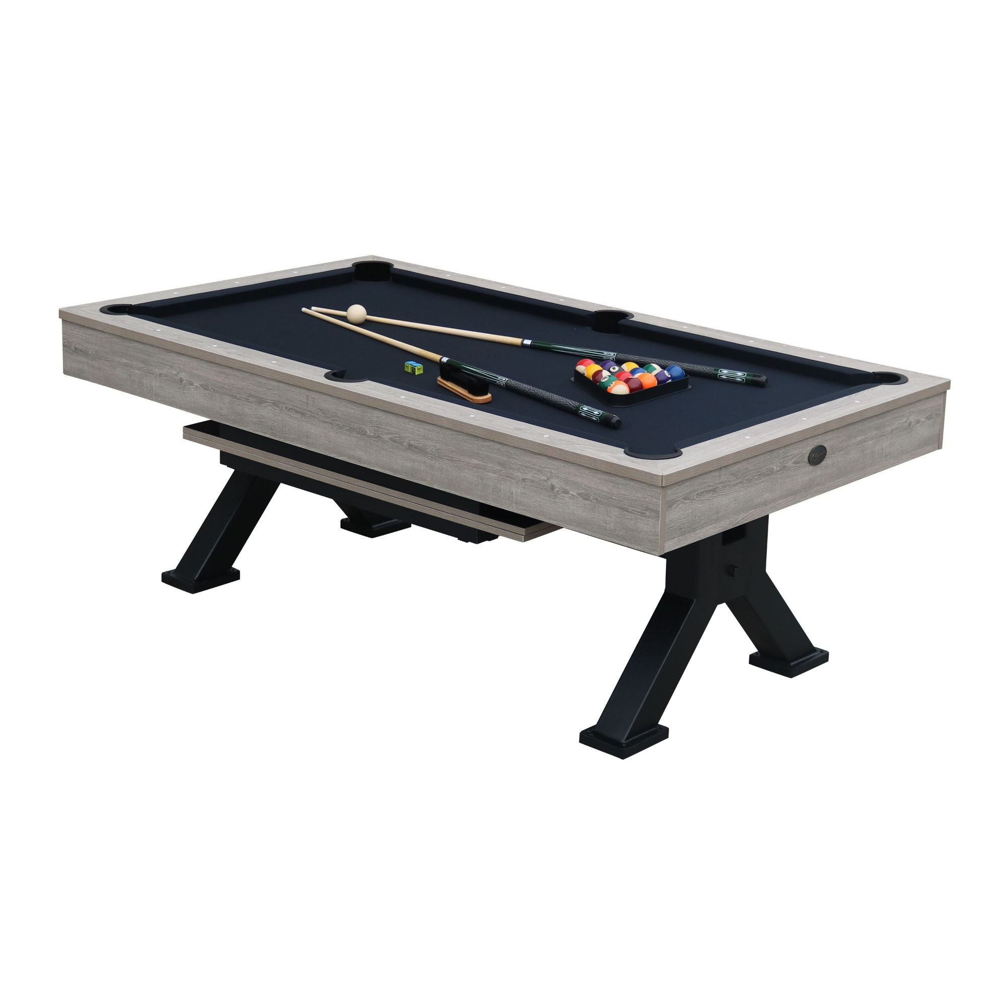 Playcraft Black Canyon 7' Pool Table with Dining Top - Gaming Blaze