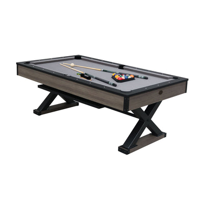 Playcraft Wolf Creek 7' Pool Table with Dining Top - Gaming Blaze