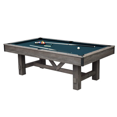 Hathaway Logan 7ft Multi Game Pool Dining Table with Benches - Gaming Blaze