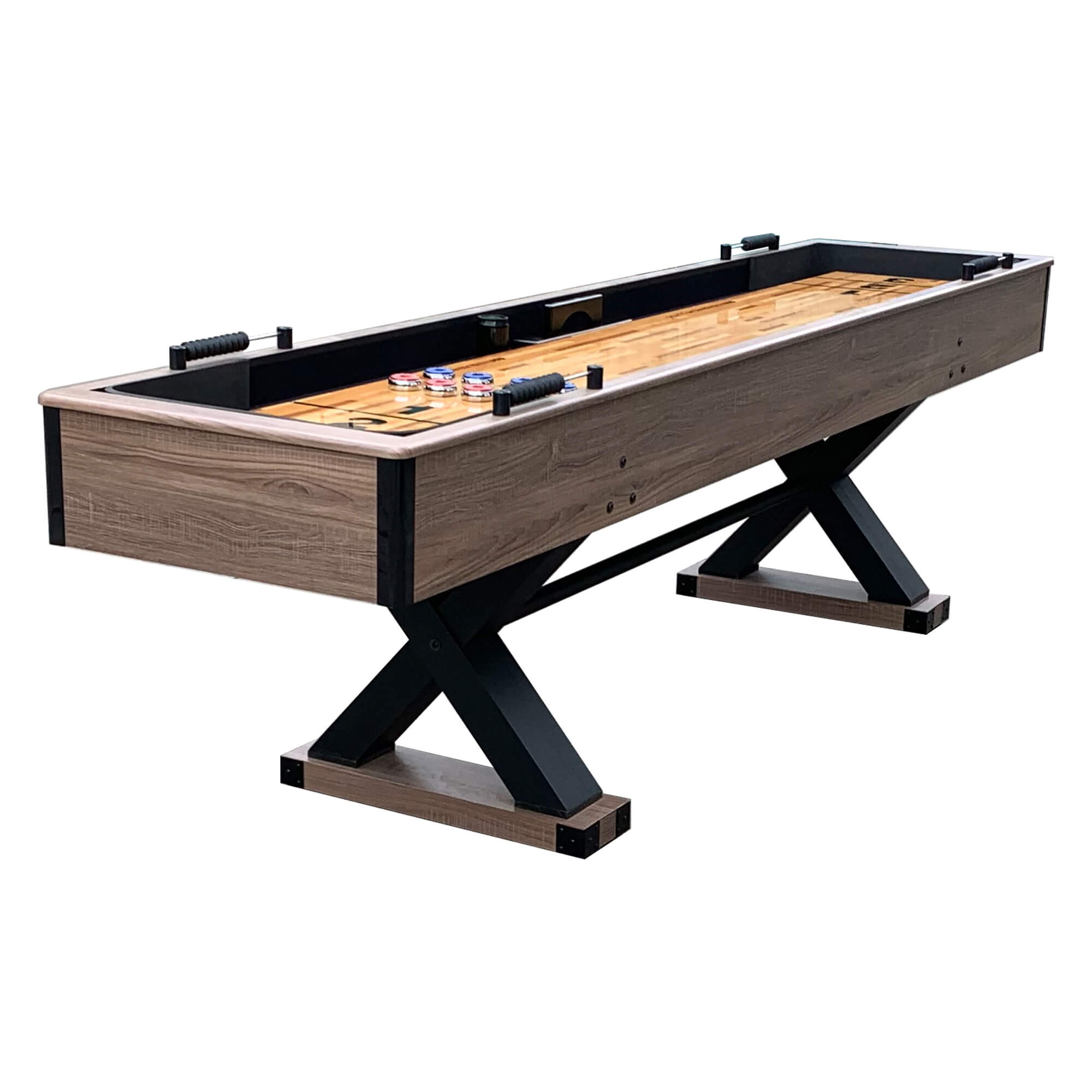 Hathaway Excalibur 9ft Shuffleboard Table - Gaming Blaze