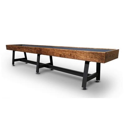 Hudson Pasadena Shuffleboard Table 9'-22' with Custom Finish Options - Gaming Blaze