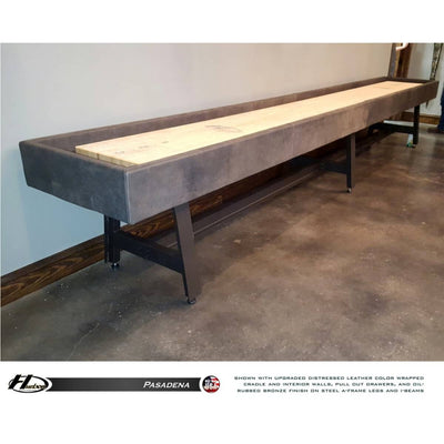 Hudson Shuffleboards Pasadena Shuffleboard Upgrade Options - Gaming Blaze