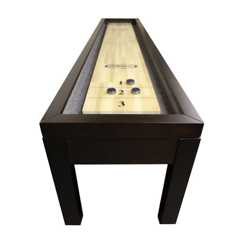 Imperial Penelope Espresso 12ft Shuffleboard Table - Game Tables