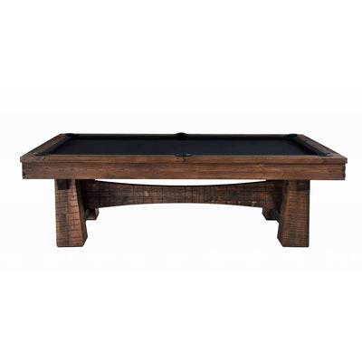 Playcraft Bull Run 8' Slate Pool Table with Optional Dining Top - Gaming Blaze