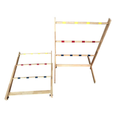 Playcraft Sport Deluxe Hardwood Ladder Toss - Gaming Blaze