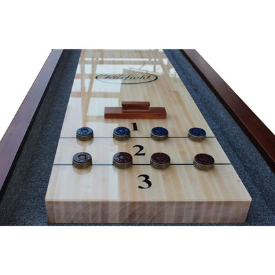 Playcraft St. Lawrence Pro-Series Shuffleboard Table - Gaming Blaze