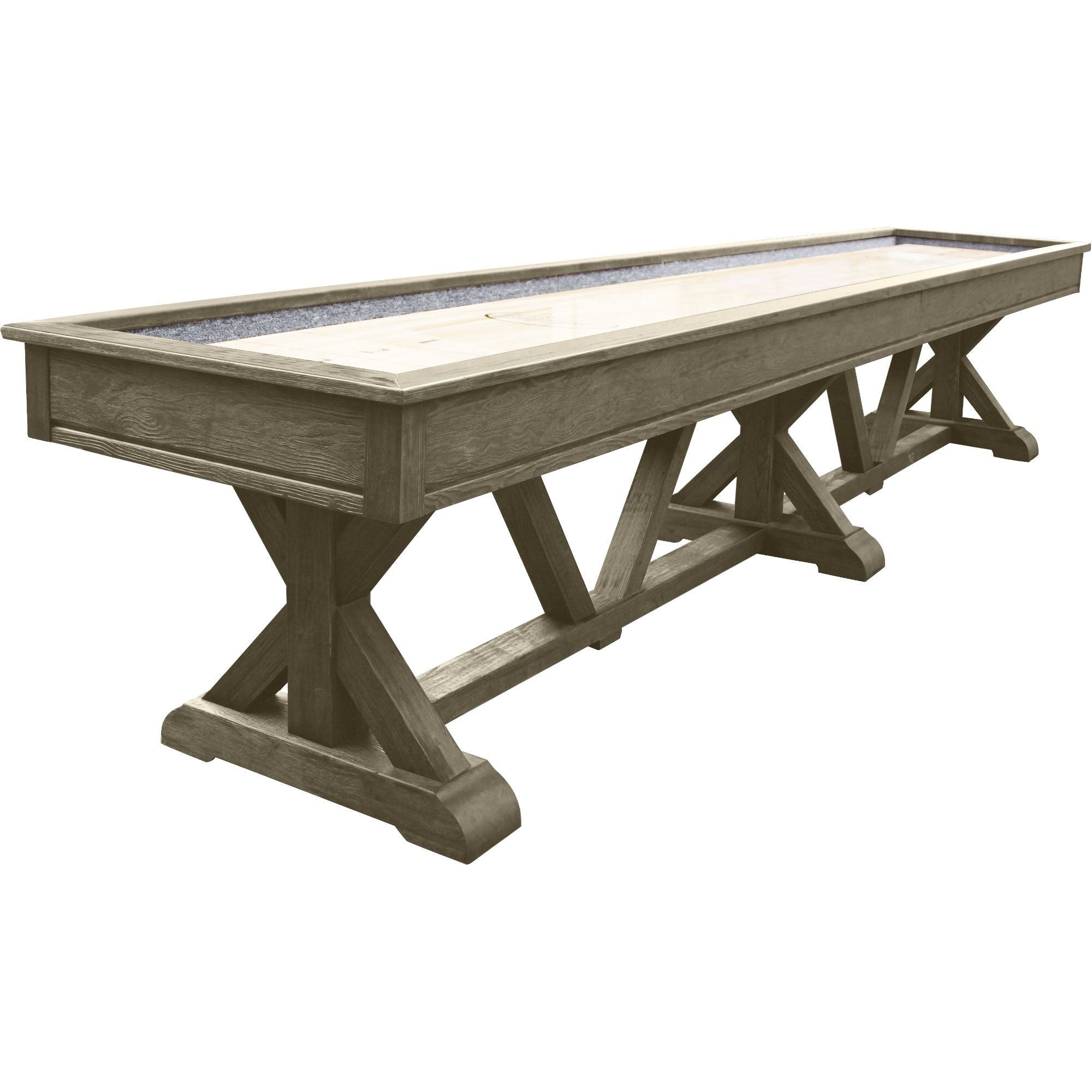 Playcraft Brazos River Pro-Series Shuffleboard Table - Gaming Blaze