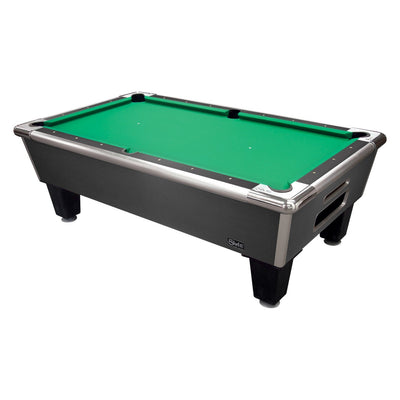 "Shelti Bayside Charcoal 101"" Slate Pool Table - Gaming Blaze"