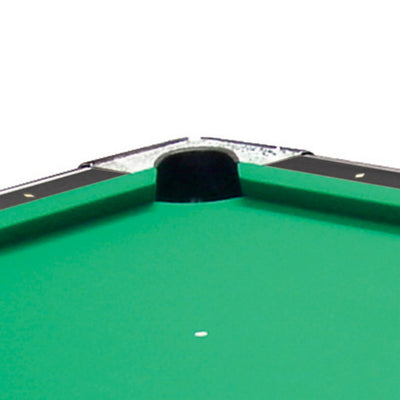 "Shelti Bayside Charcoal 88"" Slate Pool Table - Gaming Blaze"