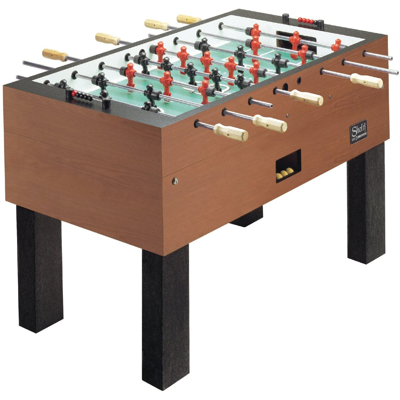 "Shelti Pro Foos III Cherry 55"" Foosball Table - Gaming Blaze"