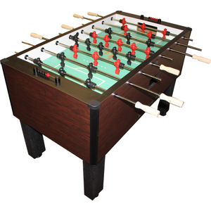 "Shelti Pro Foos II Deluxe Mahogany 55"" Foosball Table - Game Tables"