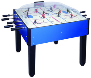 "Shelti Breakout Blue Bubble Hockey Table Dome 52"" - Game Tables"