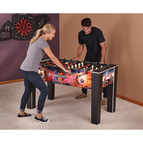 "Fat Cat Revelocity 60"" Foosball Table - Game Tables"