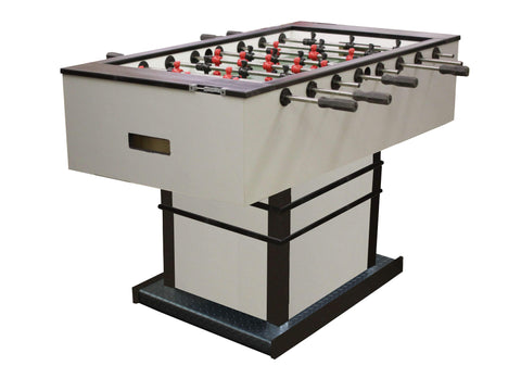 "Performance Games Sure Shot IS Pedestal Base Black Legs Foosball Table 56"" - Game Tables"