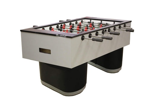 "Performance Games Sure Shot IS Tubular Black Legs Foosball Table 56"" - Game Tables"