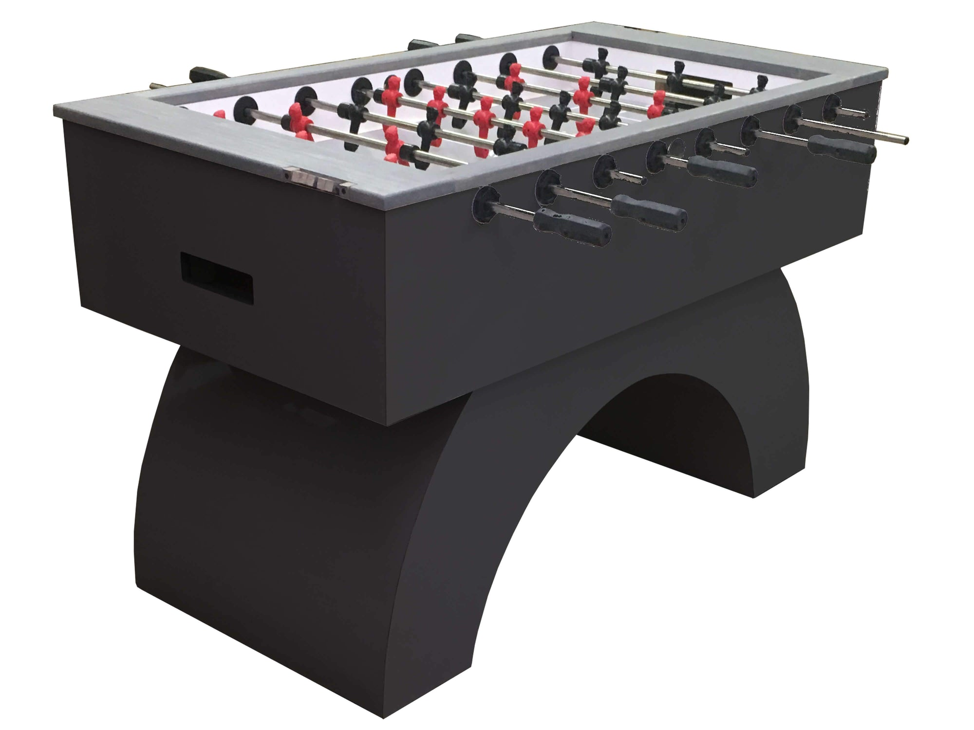"Performance Games Sure Shot RS Curved Legs Foosball Table 56"" - Gaming Blaze"