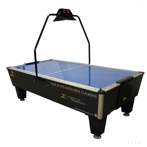 Gold Standard Games Tournament Pro Plus 8ft Air Hockey Table - Game Tables