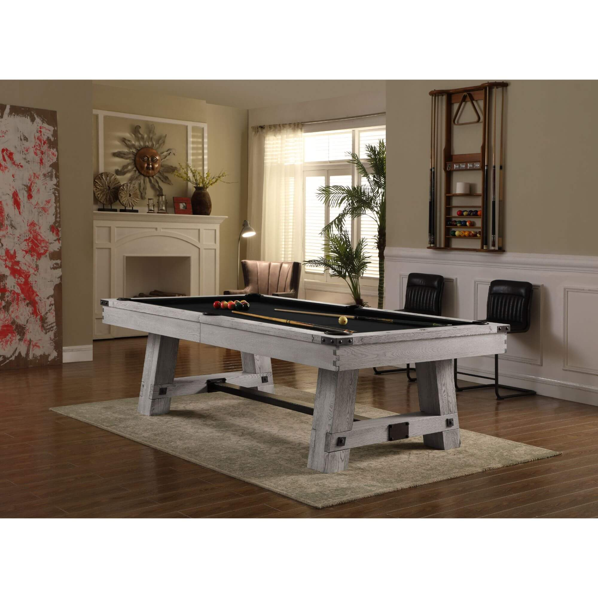 Playcraft Yukon River Slate Pool Table with Optional Dining Top - Gaming Blaze