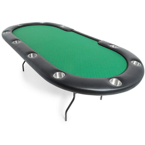 BBO Poker Tables Aces Pro Folding Poker Table 10 Person and Dealer - Game Tables
