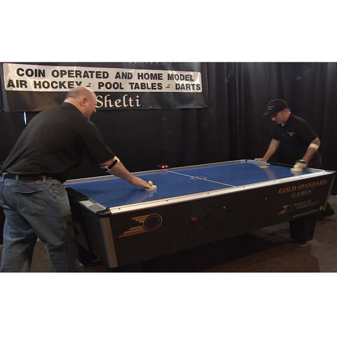 Gold Standard Games Tournament Pro 7ft Air Hockey Table - Game Tables