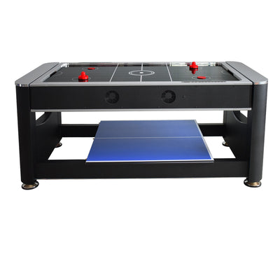 Hathaway Triple Threat 3 in 1 Multi Game Table 6ft - Gaming Blaze
