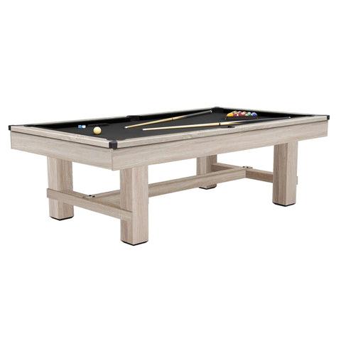 Image of Playcraft Bryce Pool Table with Black Cloth - Gaming Blaze