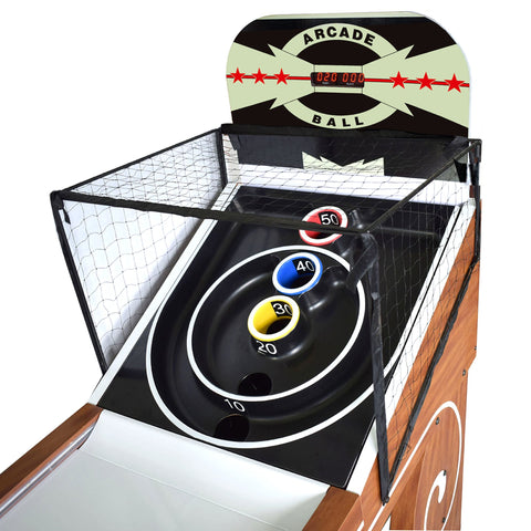 Image of Hathaway Boardwalk Arcade 8ft Skee Ball Table - Game Tables